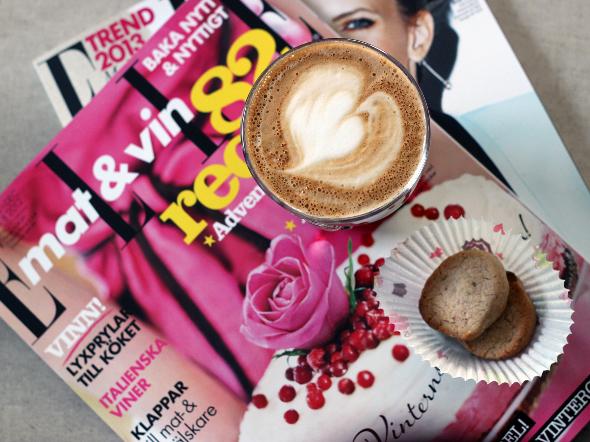 Kaffe och lördagsläsning